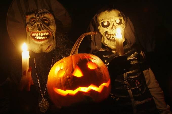 Nejmagičtější noc roku, Halloween, prožili děti v pražské botanické zahradě.