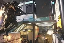 Počítačová hra Hra Call of Duty: Advanced Warfare.