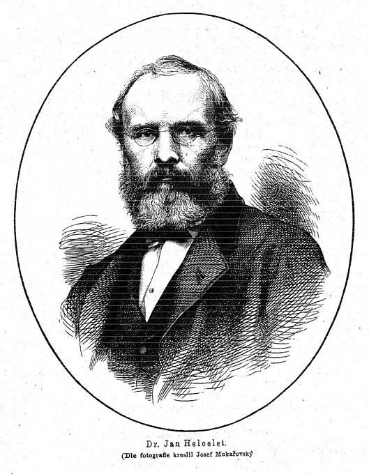 Jan Helcelet (kreslil Josef Mukařovský)