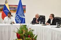 jednání venezuelského prezidenta s předáky opozice