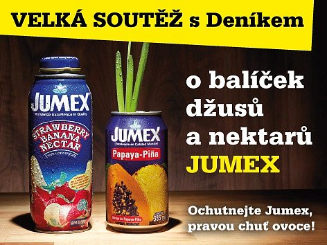 Ochutnejte Jumex, pravou chuť ovoce!