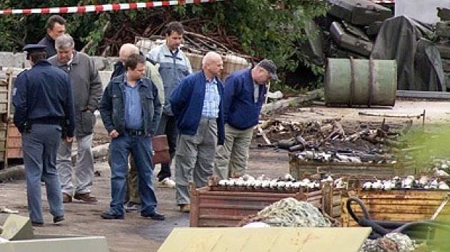 Dělníka zabil výbuch munice, kterou likvidoval autogenem.