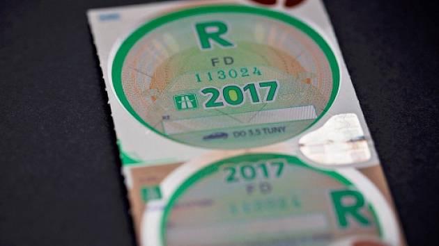 nová dálniční známka na rok 2017