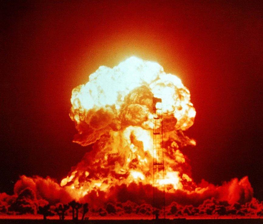 Cvičný jaderný výbuch provedený v rámci operace Upshot-Knothole