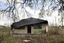 Opuštěný zchátralý dům, který více než pět let od záplav po hurikánu Katrina stále stojí v tehdy těžce zasaženém Devátém okrsku v americkém New Orleans