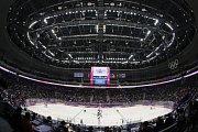 Česko - Švédsko: Zaplněná aréna v Soči