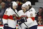 Jaromír Jágr v sobotním utkání NHL ukončil po třinácti zápasech čekání na gól, přidal dvě asistence a přispěl k výhře hokejistů Floridy 4:1 na ledě Ottawy.