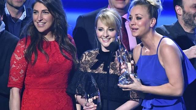 Herečky ze seriálu Teorie velkého třesku - Mayim Bialiková, Melissa Rauchová, Kaley Cuocová