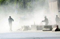 Pondělní dvojnásobný útok v Kábulu