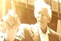 Uznávaný český chemik Otto Wichterle.