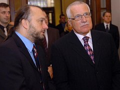 Ladislav Jakl a Václav Klaus
