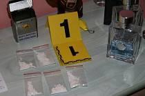 Kokain zabavený policií. Ilustrační foto.