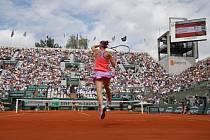 Lucie Šafářová na Roland Garros