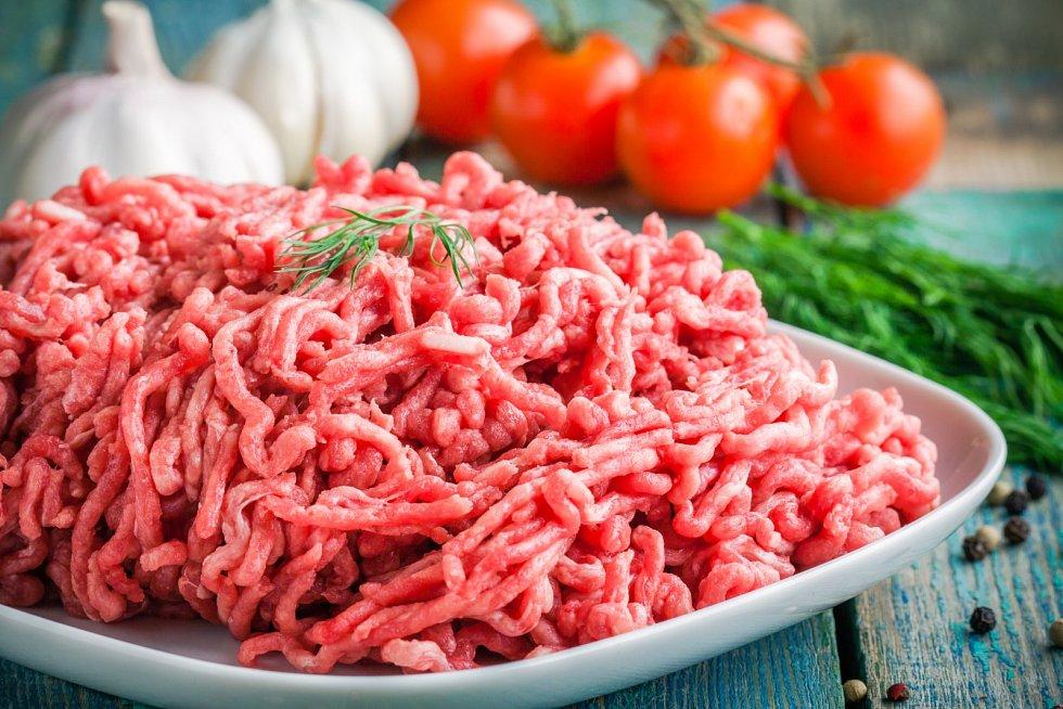Oblíbená surovina - mleté maso.