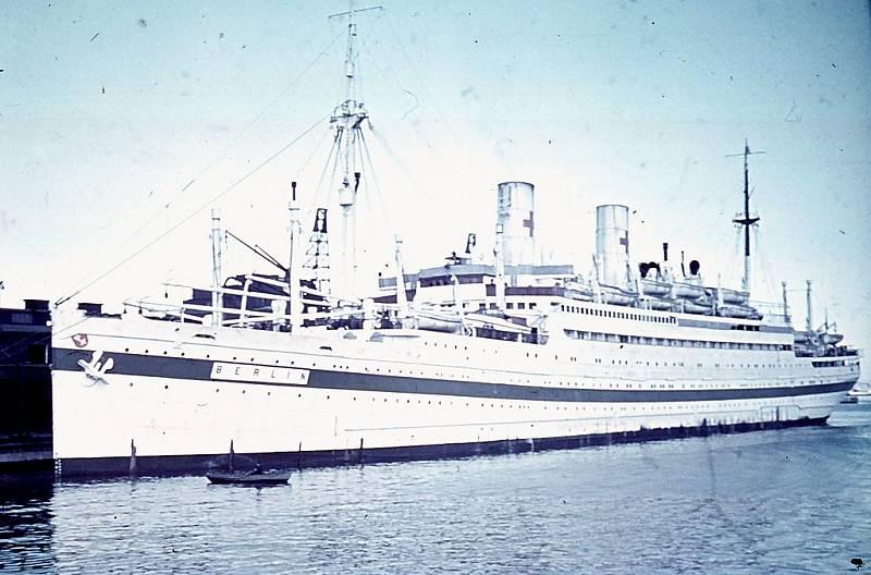 Parník Berlin III mezi lety 1940 a 1942