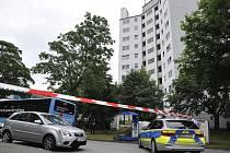Dům ve Wuppertalu, který nechaly úřady vystěhovat kvůli nebezpečné hořlavé izolaci.