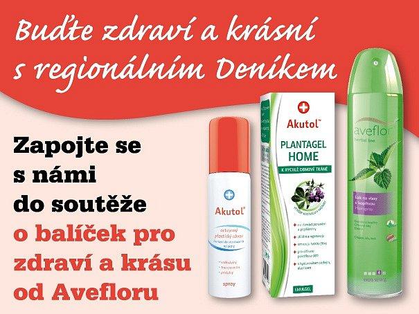 Zapojte se s námi do soutěže o balíček pro zdraví a krásu od Avefloru.