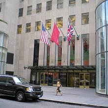 Aukční síň Christie´s v Rockefellerově centru