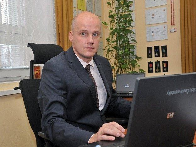 Ředitel městské policie Eduard Šuster.