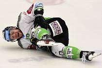 Mladé Boleslavi se zranil Dominik Pacovský.