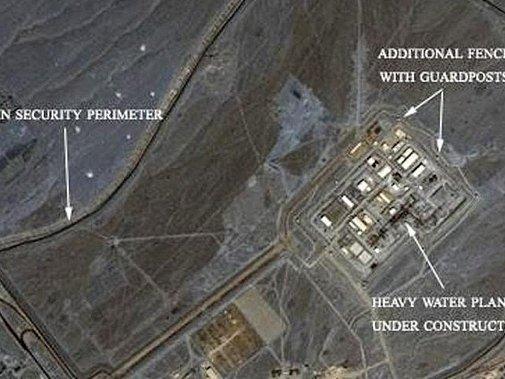 Jaderná základna v Íránu. Ilustrační foto