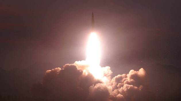 Raketový test KLDR - Ilustrační foto