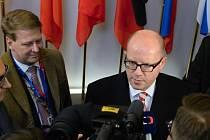 Bohuslav Sobotka v Bruselu