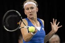 Premiéru ve Fed Cupu zvládla i Tereza Smitková.
