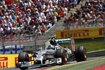 Velká cena Rakouska: Nico Rosberg během závodu