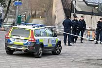 Výbuch ve stanici stockholmského metra