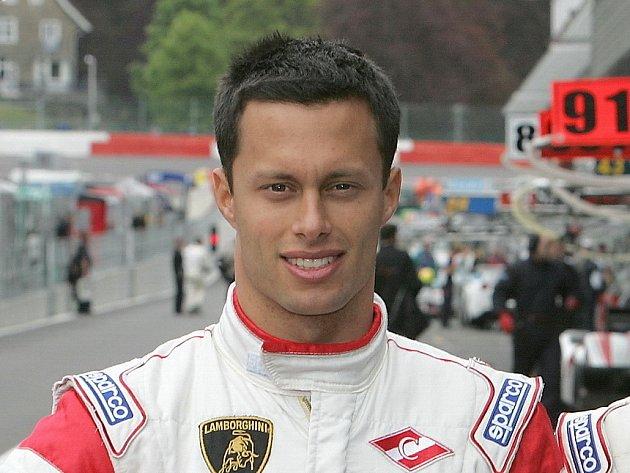 Český automobilový závodník Filip Salaquarda.