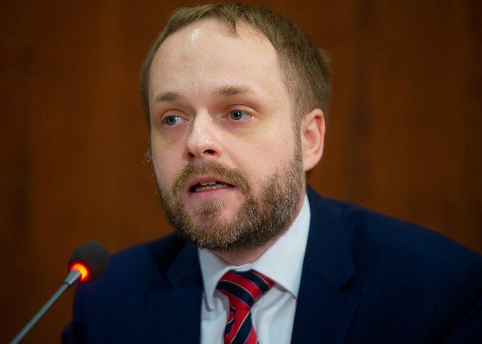 Náměstek ministra vnitra Jakub Kulhánek