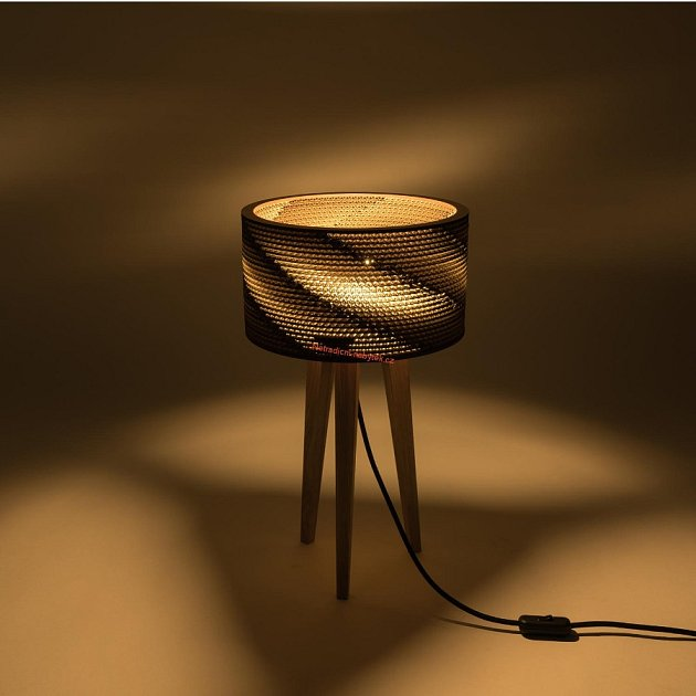 Stolní lampa Cardlamp mini, 3980Kč