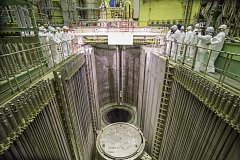 Reaktor typu VVER-1200 v jaderné elektrárně Leningradská II
