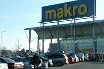 Velkoobchodní centrum Makro - ilustrační foto.