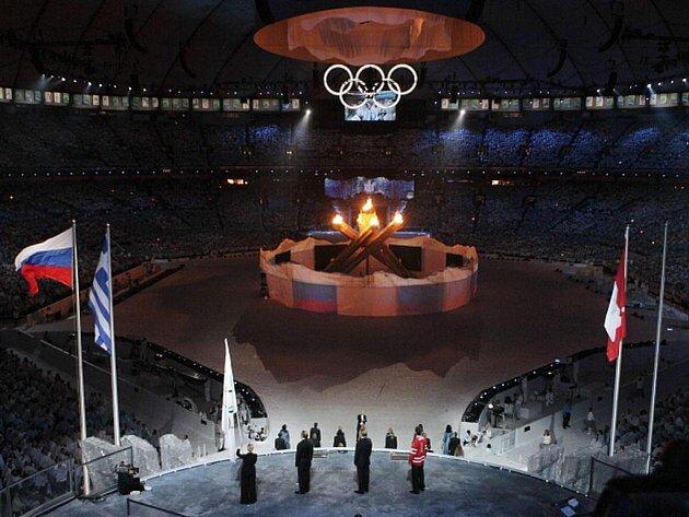 Závěrečný ceremoniál zimních olympijských her 2010. Další hry budou v ruském Soči.