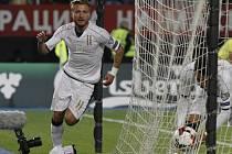 Italský hrdina. Ciro Immobile rozhodl o výhře v Makedonii v 92. minutě
