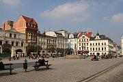 Náměstí v Polském Těšíně