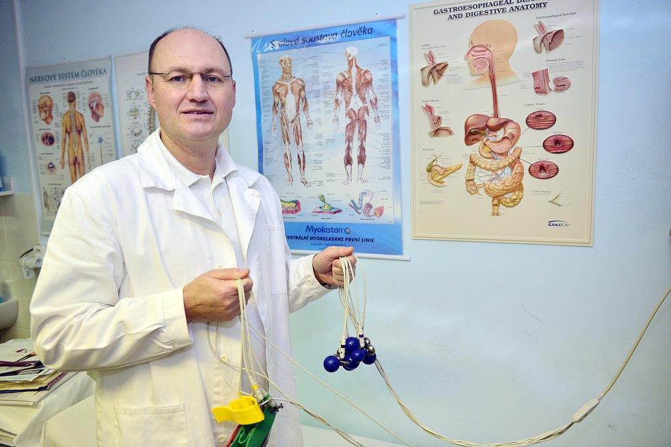 Lékař Jozef Čupka.