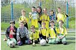Žáci ze školy U Krčského lesa mají turnaj v oblibě a v roce 2016 byli na Praze 4 nejlepší v mladší kategorii. Městská část Praha 4 má na programu letošní zápasy okresního kola dnes a 25. dubna, oba dny se hraje na hřišti Tempa.
