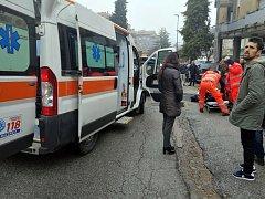 Střelba v italské Maceratě