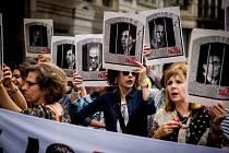 Katalánci protestují proti rozsudkům nad politiky