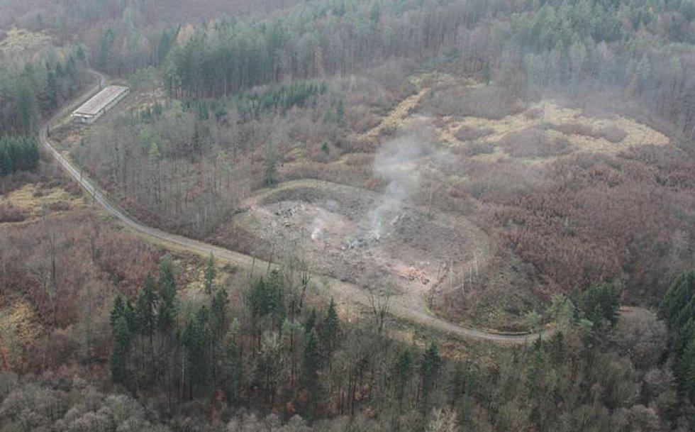 Výbuch skladu ve Vrběticích