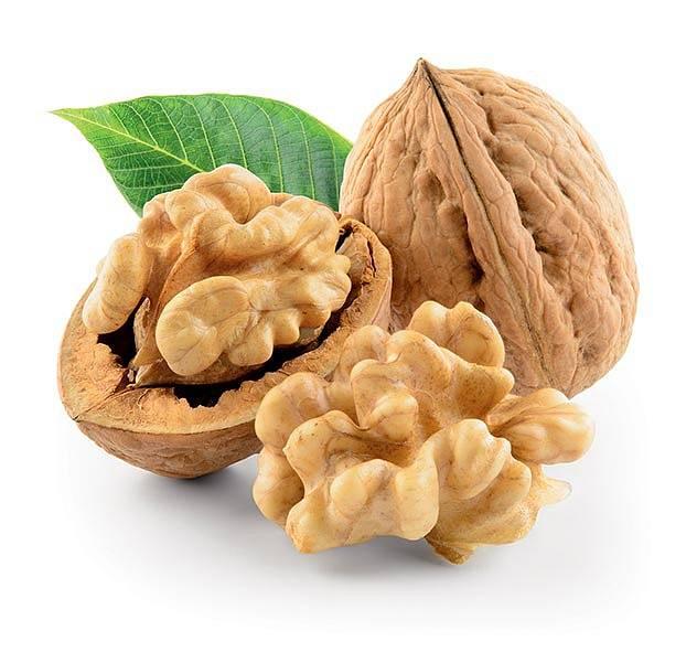 Vlašské ořechy se jsou kvůli vysoké hodnotě vitaminu E řazeny mezi top 10 antioxidačních potravin.