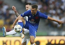 Zápas mezi Slavií Praha a Dynamem Kyjev skončil pro slávisty prohrou.