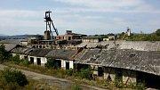 Zbytky sovětské továrny na těžbu a zpracování soli.