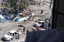 Útok v somálském Mogadišu