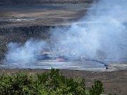 Sopka Kilauea na Havaji.