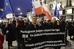 Protest polských soudců a právníků