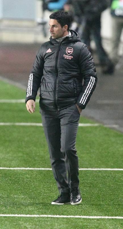 Mikel Arteta nemohl tušit, že jeho svěřenci pak vypadnou s Villarrealem